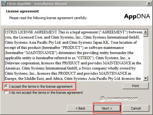 AppDNA Installation License Agreement