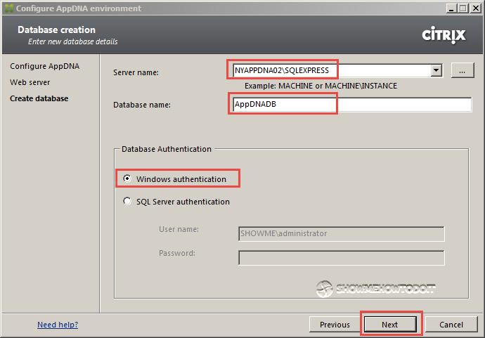 AppDNA 7 Database Server