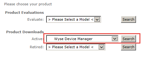 Wyse Device Manager Download Location