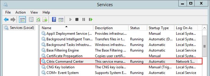 Citrix Command Center Upgrade