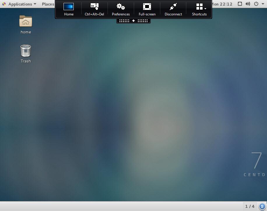 Citrix Linux VDA CentOS 7.2 Desktop
